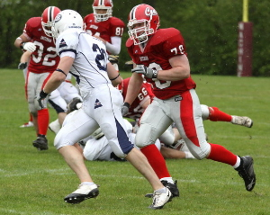 London Blitz could not be stopped (c) Amsterdam Crusaders