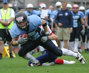 Finland beats Great Britain in the bronze medal game (c) EFAF